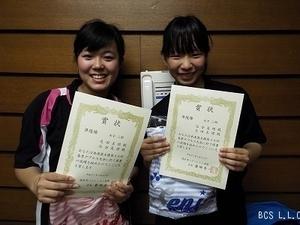 平27.4春季D女子2部準優勝.谷合・芝田組.jpg
