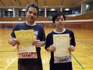 平27.4春季D男子1部準優勝.山口・三上組.jpg