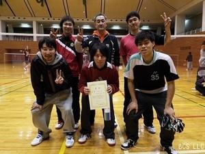 2016.2団体戦男子1部リーグ優勝にわとりA.jpg