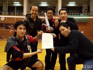 2016.2団体戦男子3部リーグ優勝ハミング.jpg