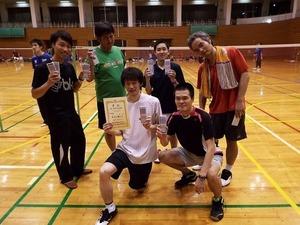 2017.10市民祭団体戦男子部2位.四つ葉.jpg